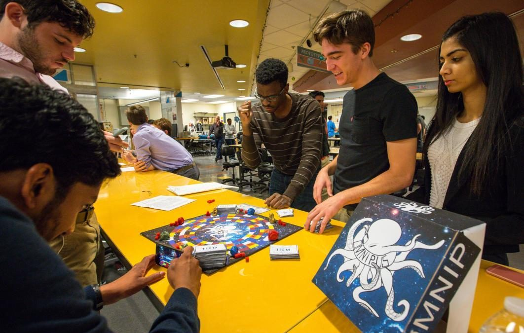 How one professor uses board games to teach