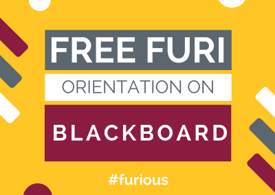 Free FURI Orientation on Blackboard
