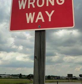 Wrong-Way Vehicle Disabling